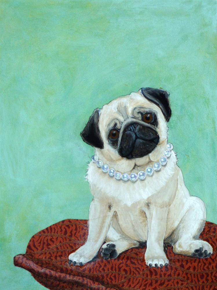 """""""All Dressed Up"""" original fine art by Ande Hall"""