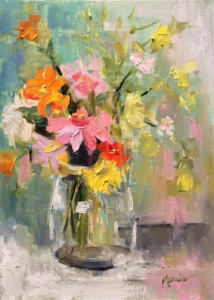 """I'm Just A Mess"" original fine art by Marcia Hodges"