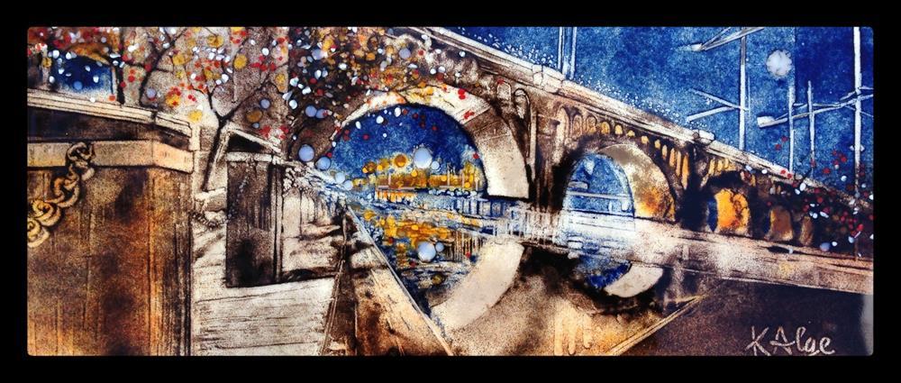 """""""Boardwalk Reflections"""" original fine art by Kelly Alge"""