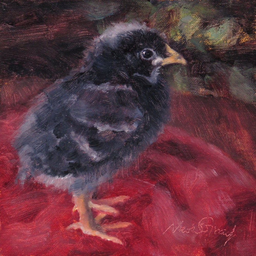 """Baby Eenie"" original fine art by Naomi Gray"