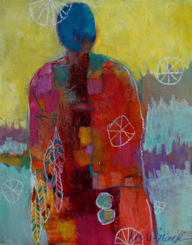 """""""Healer"""" original fine art by Kerri Blackman"""