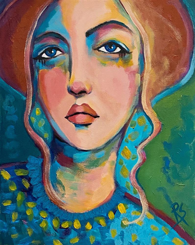 """The Persistence of Memory "" original fine art by Artcylucy Art by Roberta Schmidt"