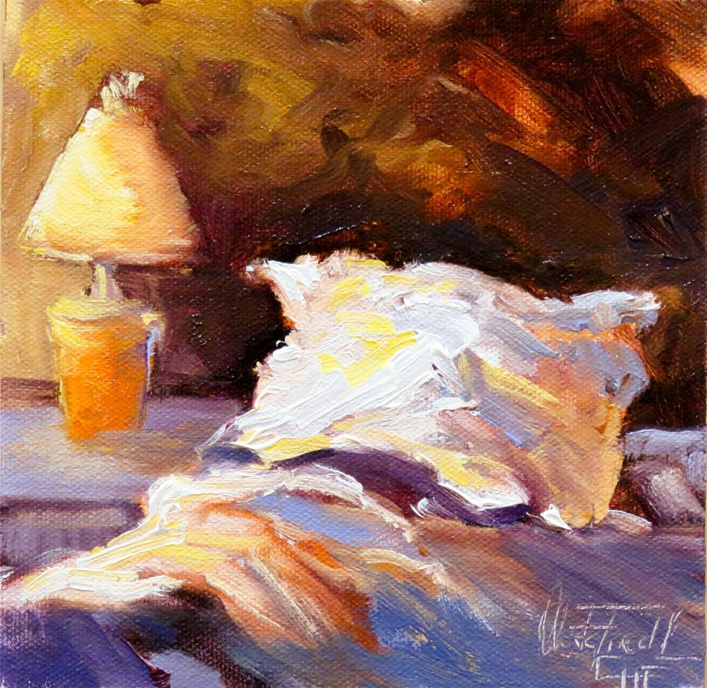 """Caught by the Flu"" original fine art by Christa Friedl"