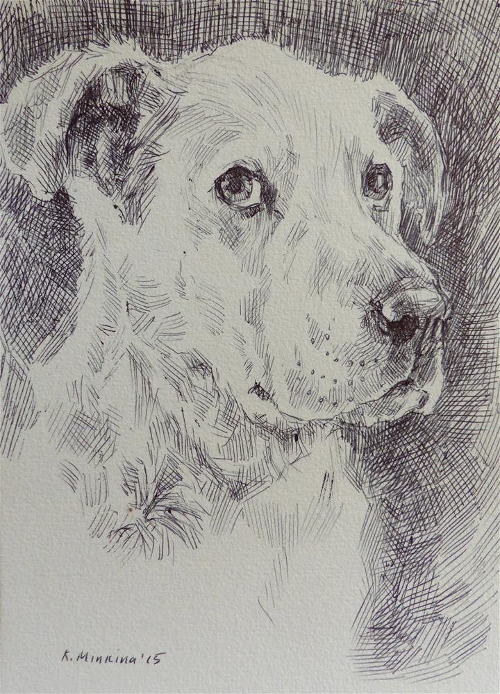 """adopt144"" original fine art by Katya Minkina"
