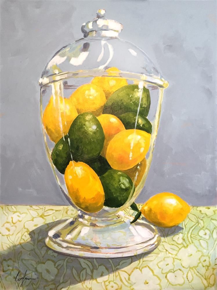 """The Citrus Jar"" original fine art by Cornelis vanSpronsen"