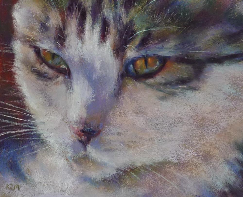"""""""Jazzpurr"""" original fine art by Karen Margulis"""