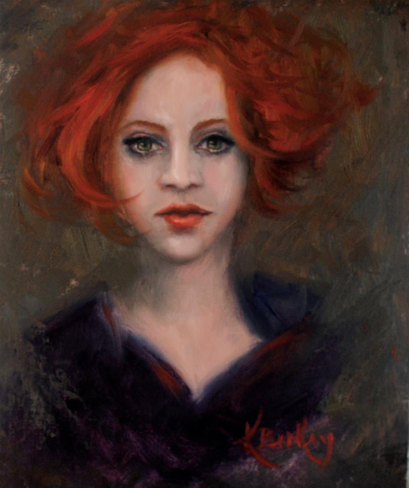 """Flushed"" original fine art by Kelly Berkey"