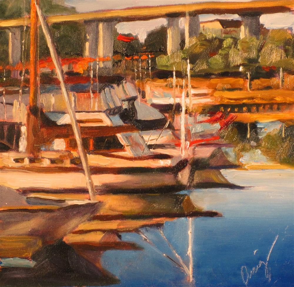 """""""Petaluma 2"""" original fine art by Sharman Owings"""