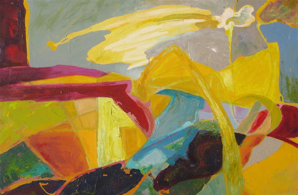 """Skyway"" original fine art by Priscilla Bohlen"