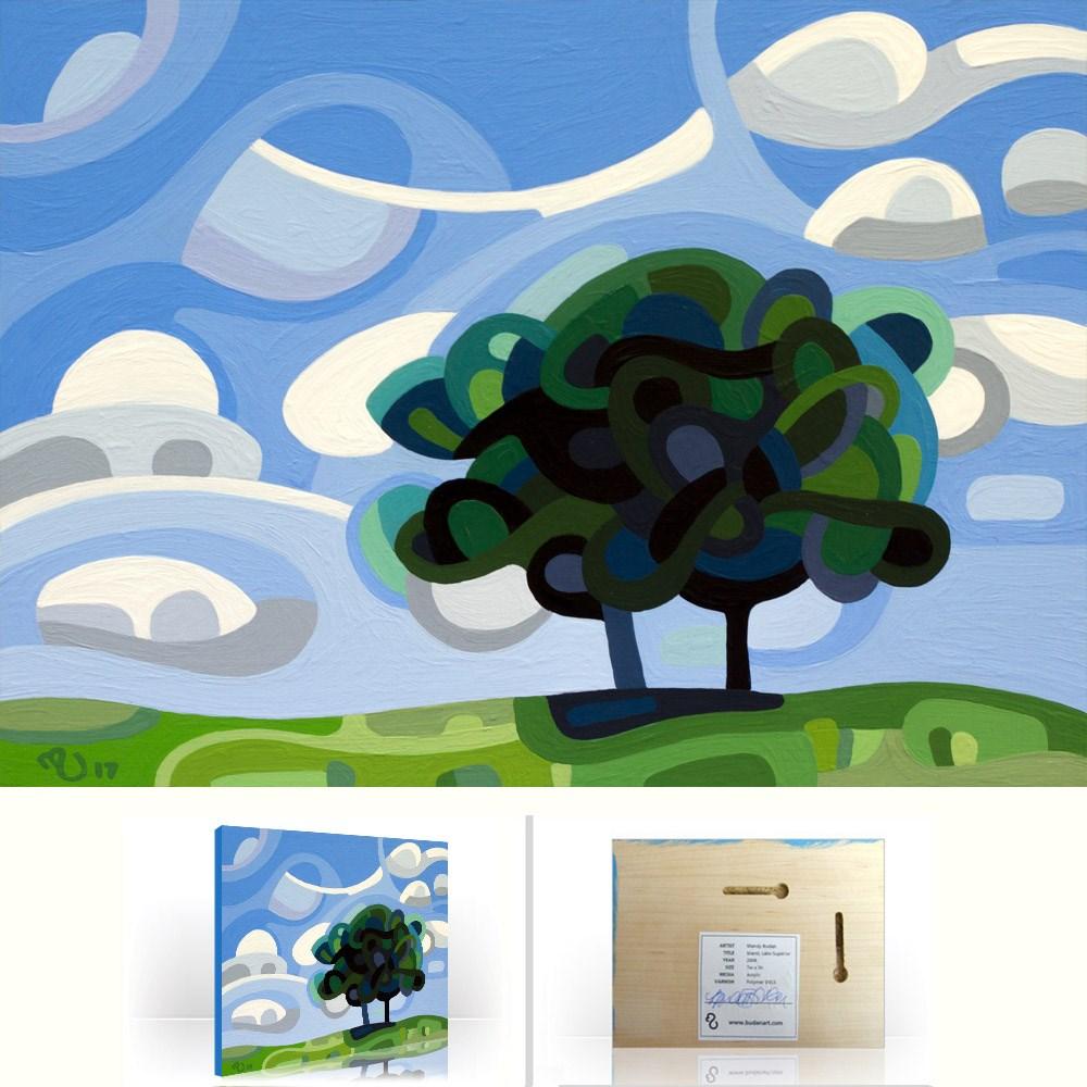 """Landscape Study #108"" original fine art by Mandy Budan"