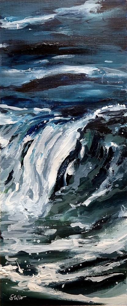 """""""1960 Mare Uno"""" original fine art by Dietmar Stiller"""