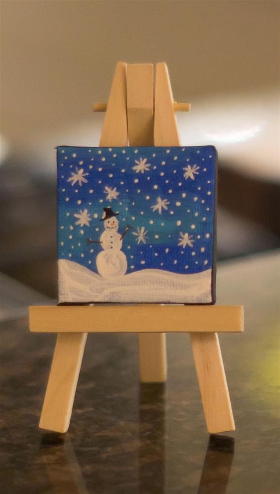 """""""Blissfully Frozen"""" original fine art by Kali Parsons"""