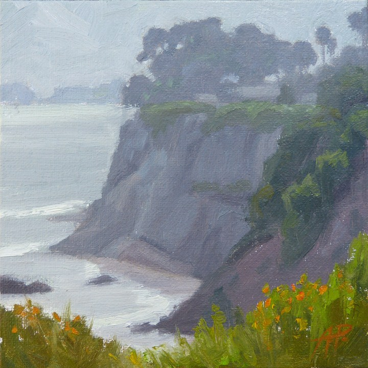 """Late Sun at More Mesa"" original fine art by Anette Power"