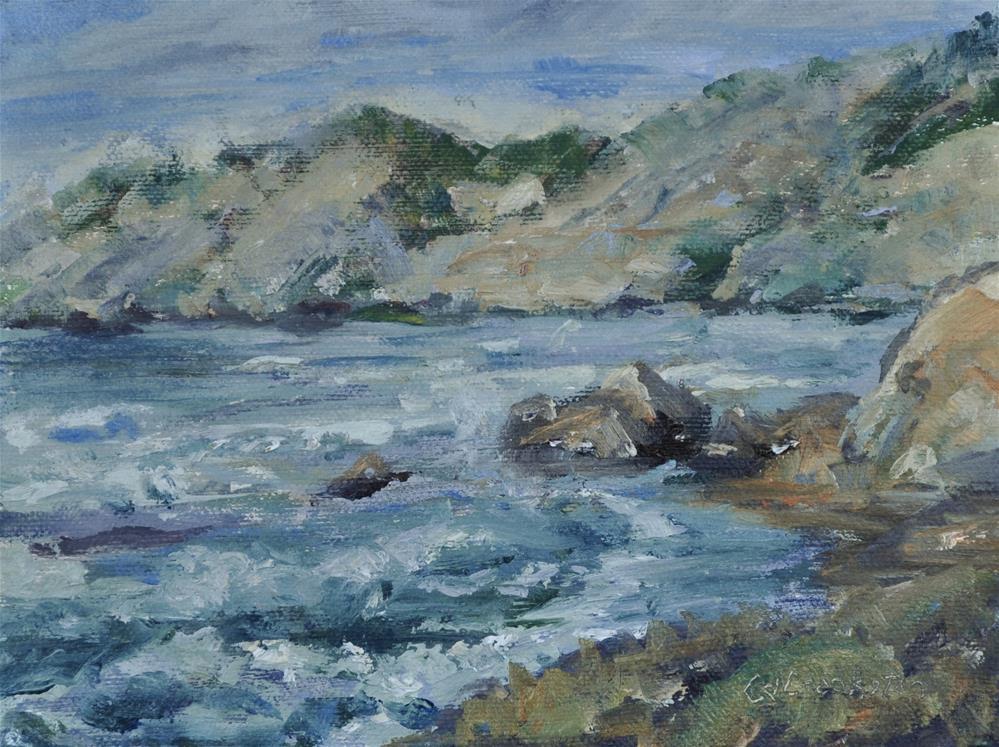 """Along the Shore"" original fine art by Catherine Crookston"