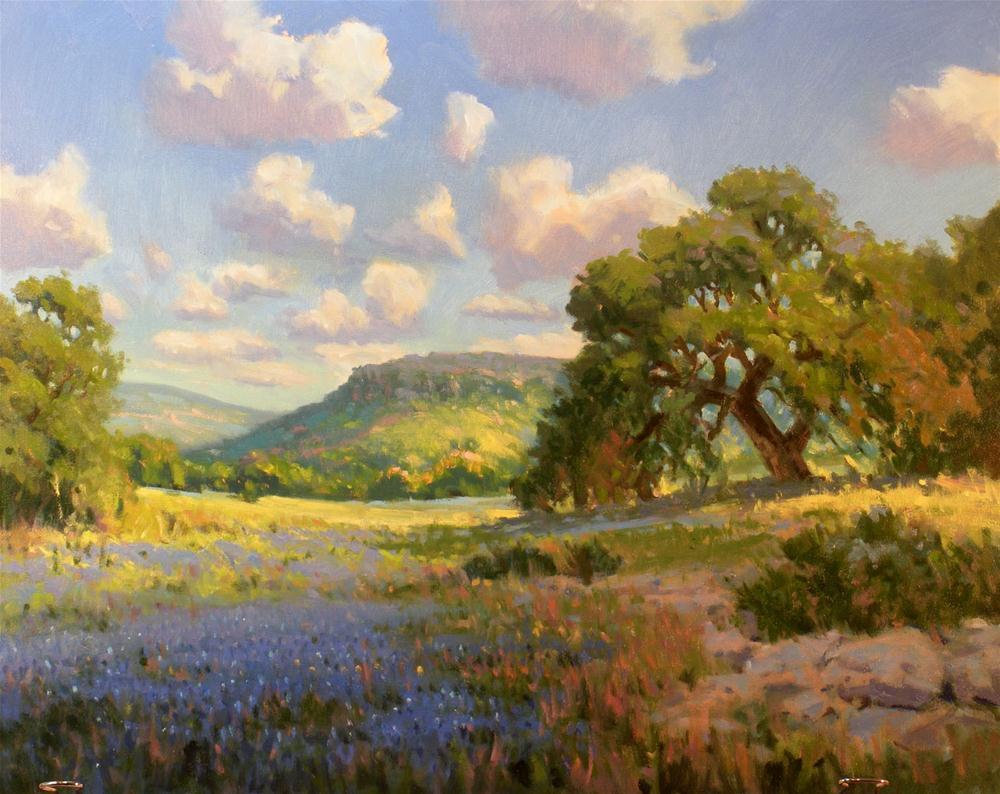"""Spring in the Hills"" original fine art by David Forks"
