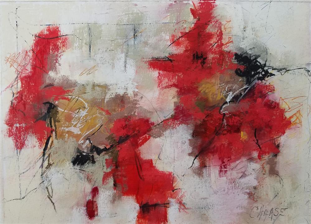 """Em's Garden I"" original fine art by Cindy Haase"