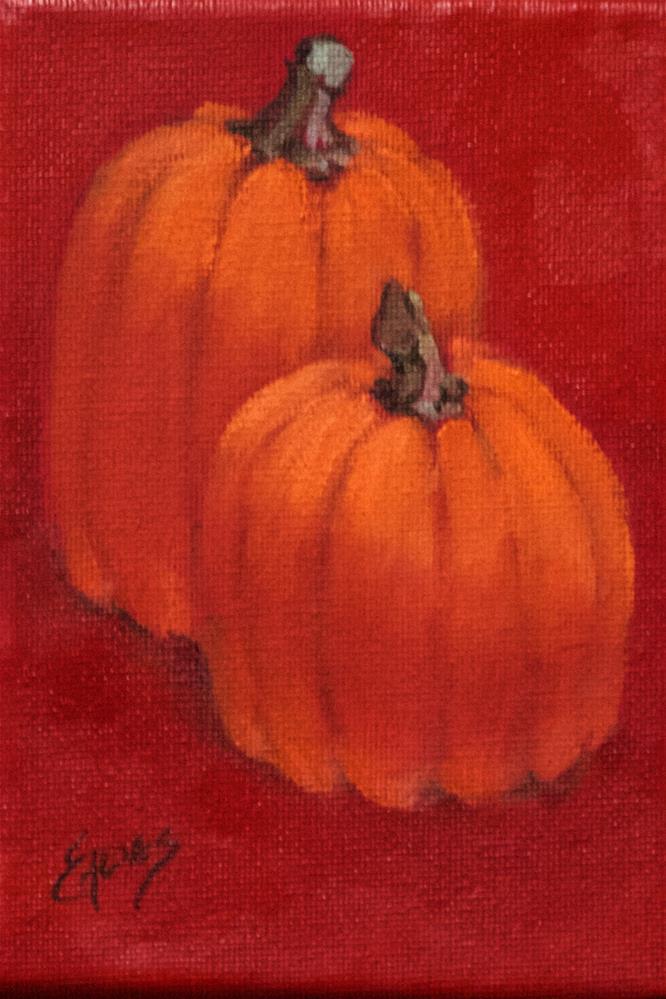 """Little Pair"" original fine art by Linda Eades Blackburn"