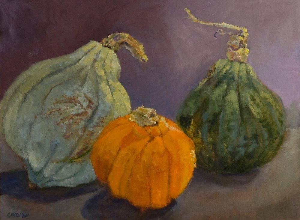 """Meet the Hubbards"" original fine art by Carolynn Doan"