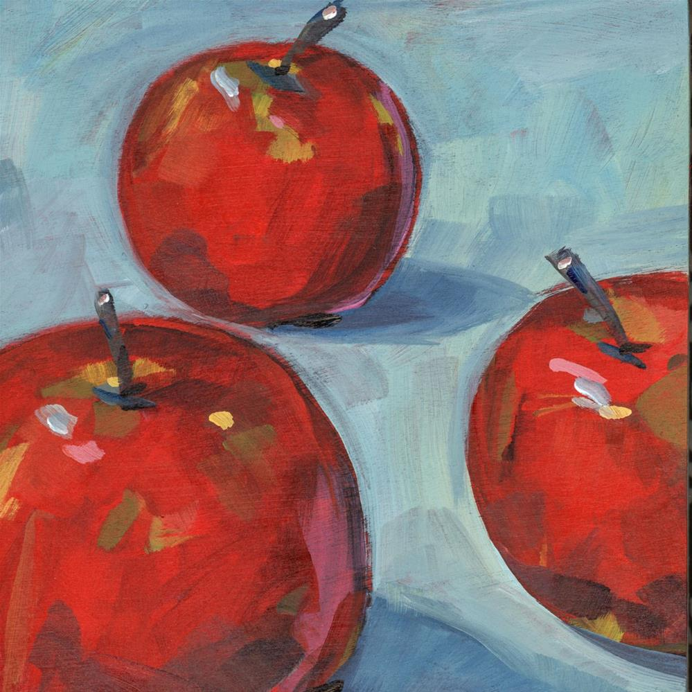 """0660: More Little Lady Apples"" original fine art by Brian Miller"