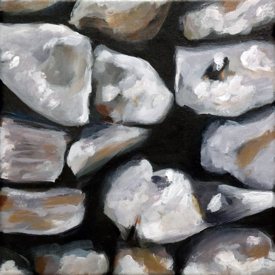 """1099 Between Stone and Wall"" original fine art by Dietmar Stiller"