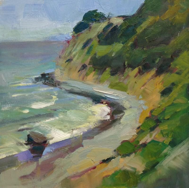 """Oregon Coastal Arc"" original fine art by Patti McNutt"