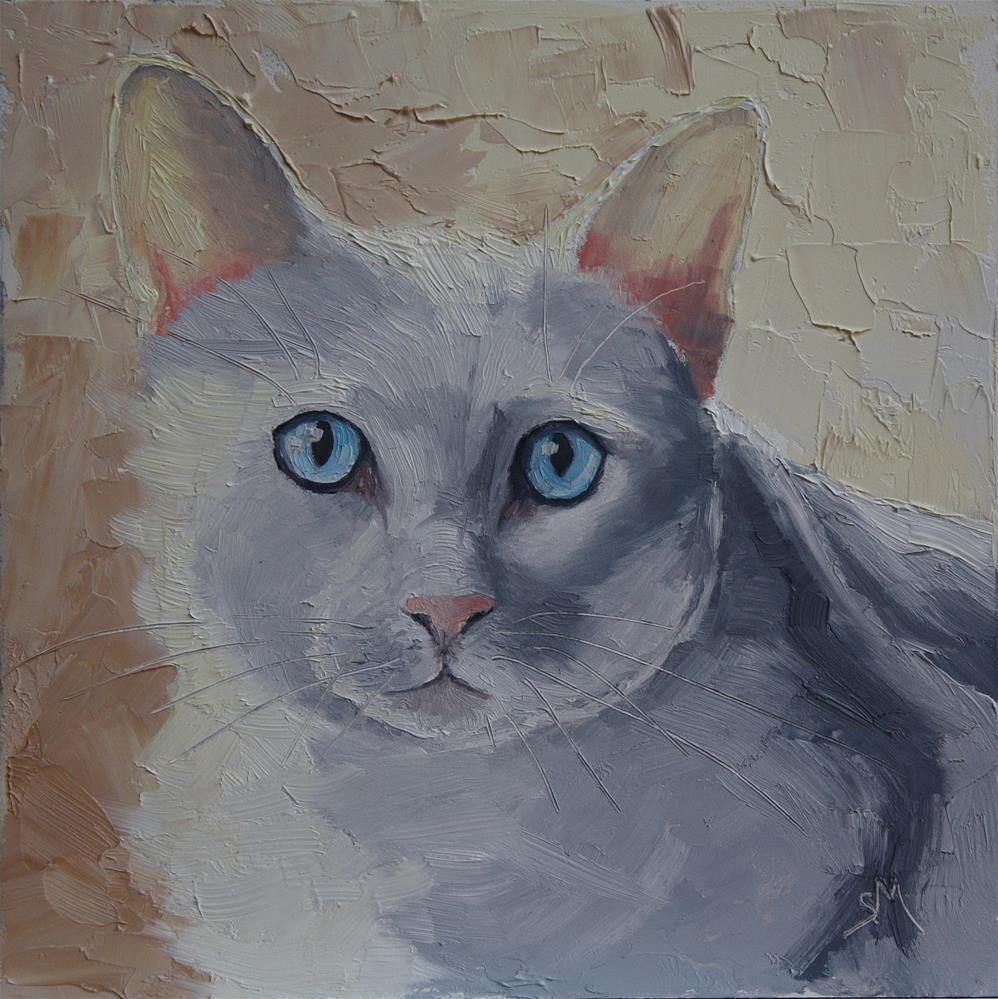 """Bunny"" original fine art by Sheila Marie"