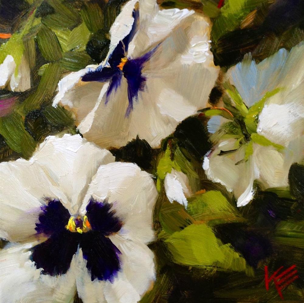"""""""Peaceful"""" original fine art by Krista Eaton"""