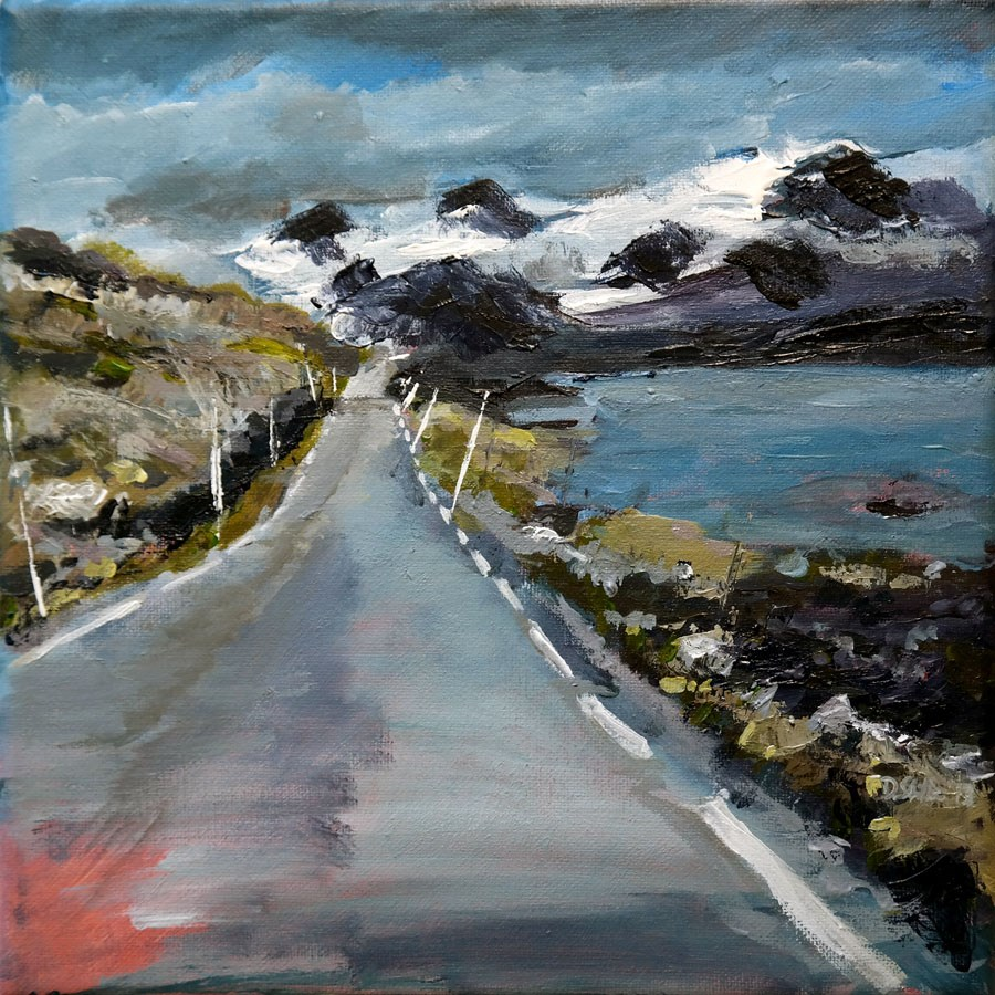 """0762 Sygnefjell"" original fine art by Dietmar Stiller"