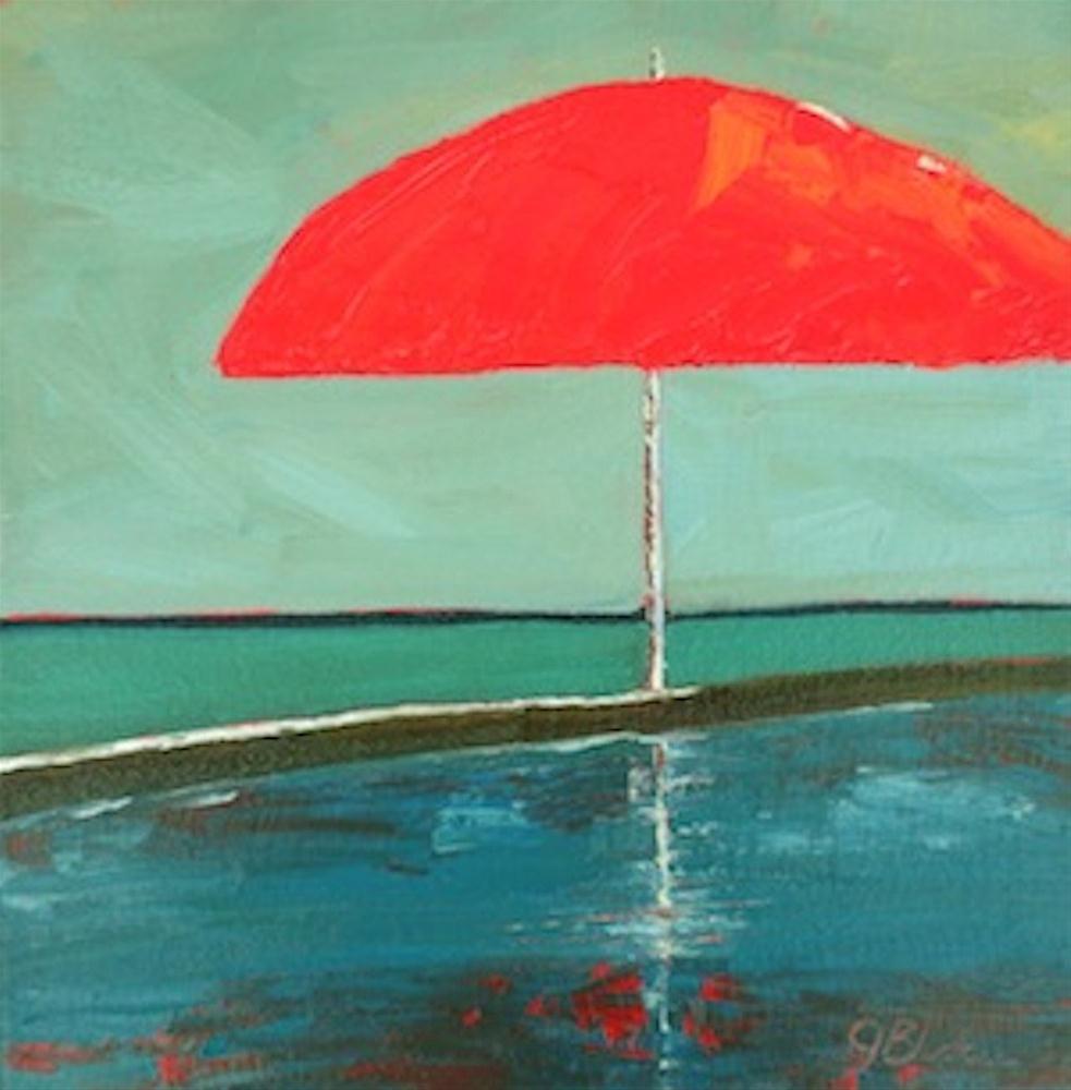 """""""Spicy Vacation"""" original fine art by Janet Bludau"""