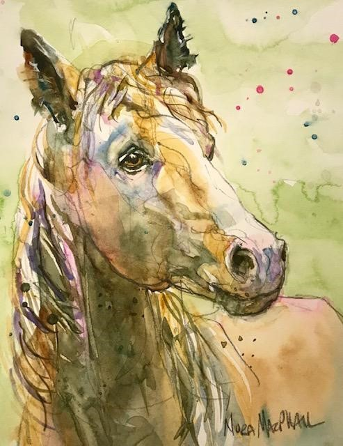 """Star"" original fine art by Nora MacPhail"