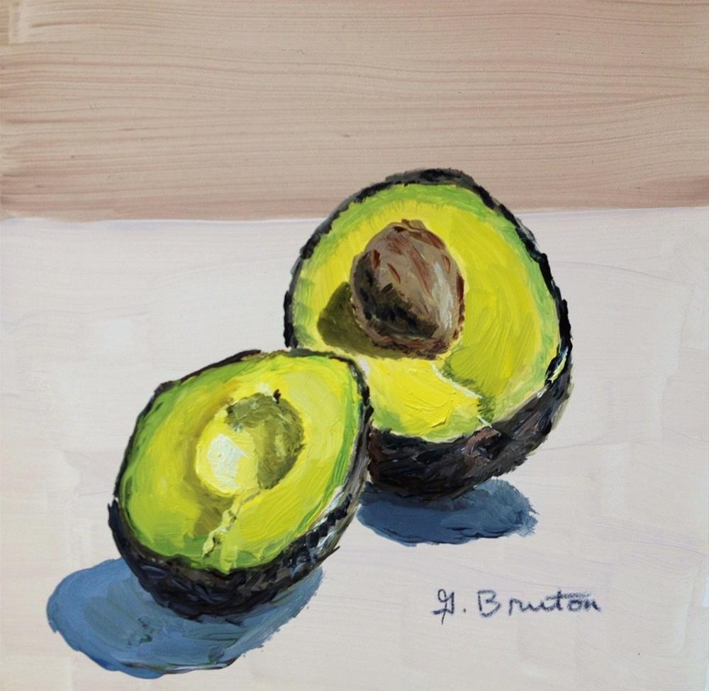 """""""Avocado"""" original fine art by Gary Bruton"""