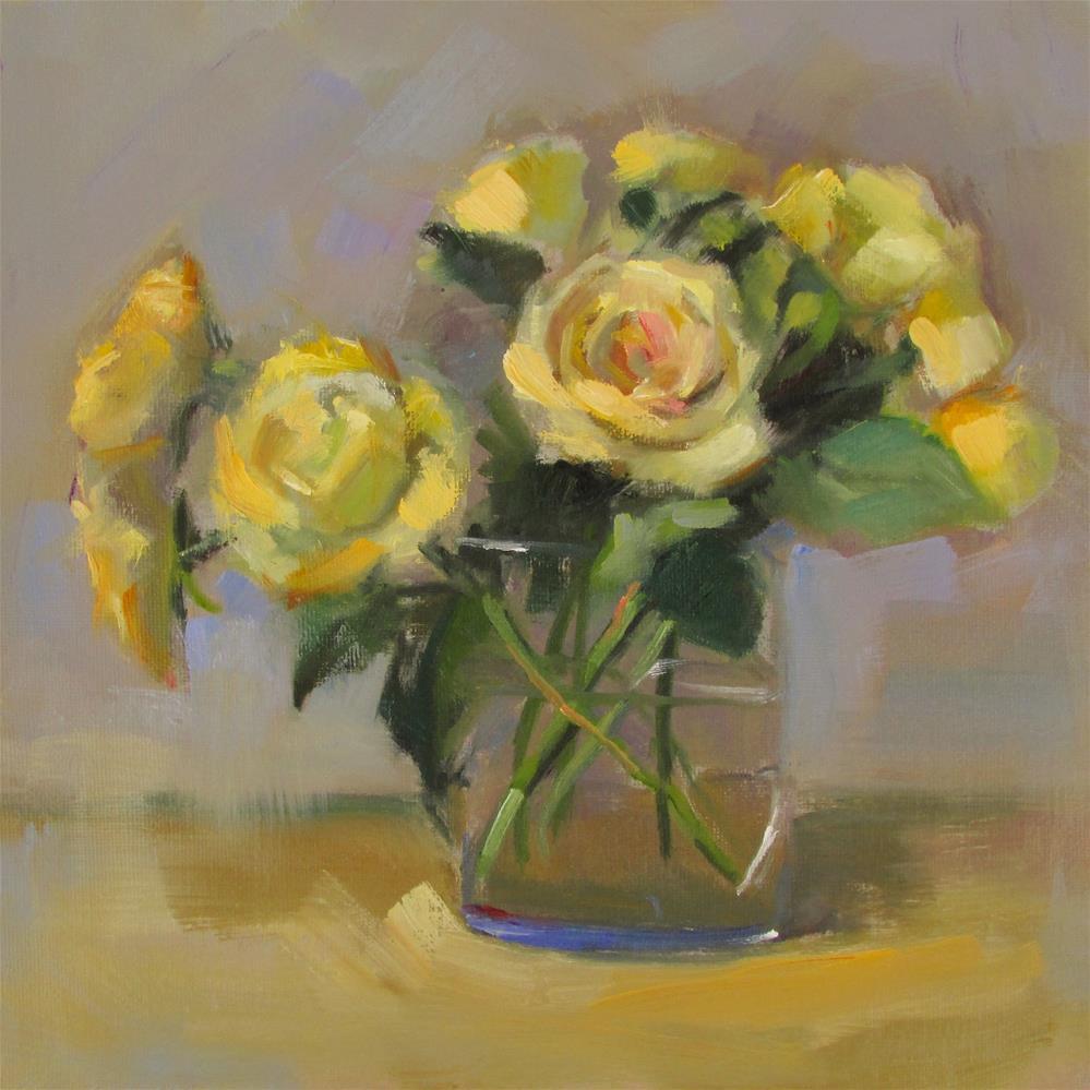 """Colors Of Yellow"" original fine art by Dana Cooper"
