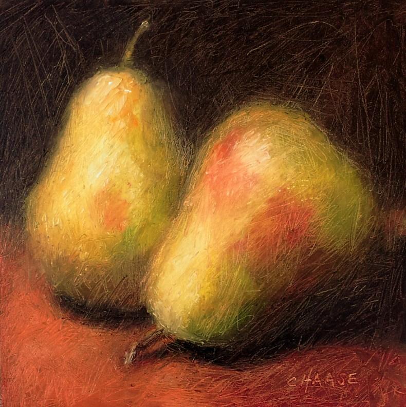 """""""Memory of Pears"""" original fine art by Cindy Haase"""