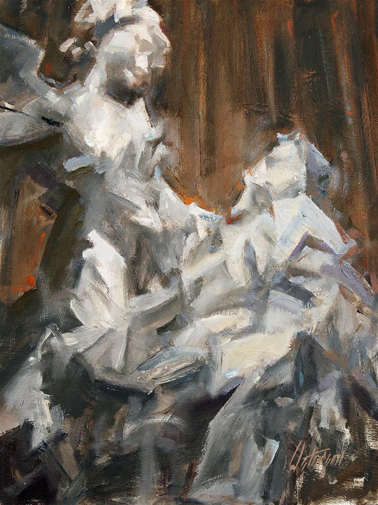 """After Bernini"" original fine art by Mike Peterson"