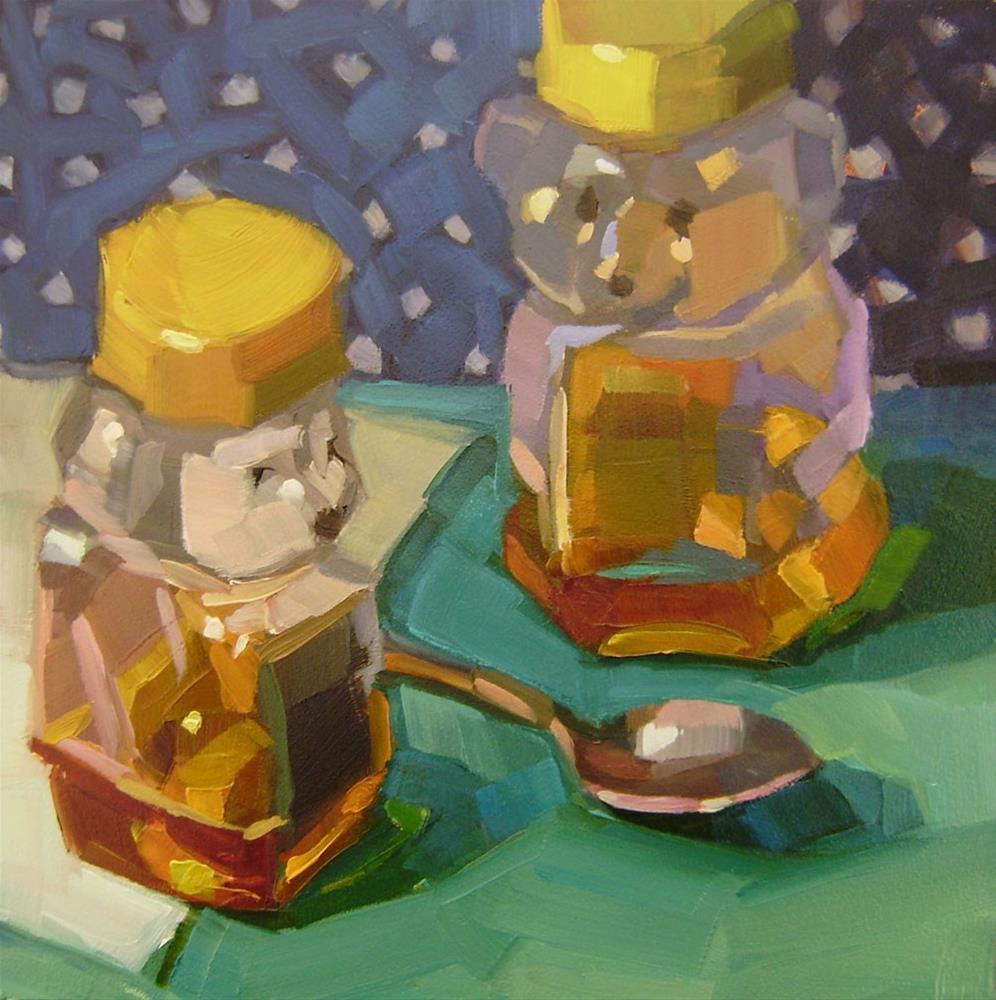 """Honey Bears"" original fine art by Holly Storlie"