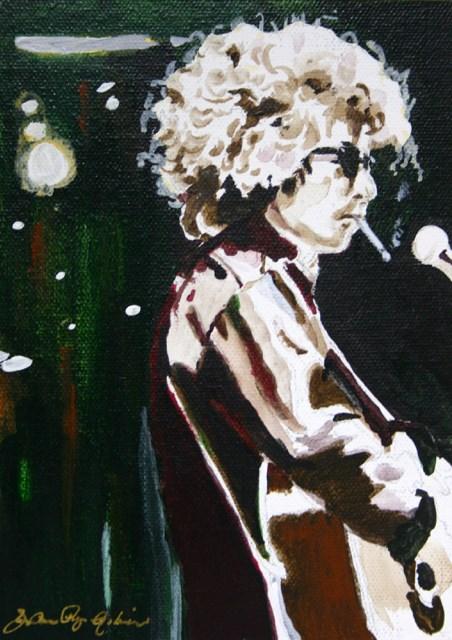 """""""Bob"""" original fine art by JoAnne Perez Robinson"""