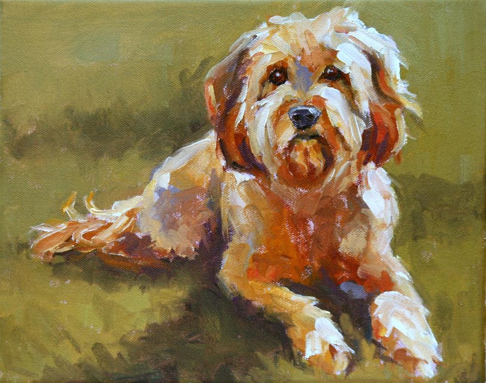 """bailey"" original fine art by Carol Carmichael"