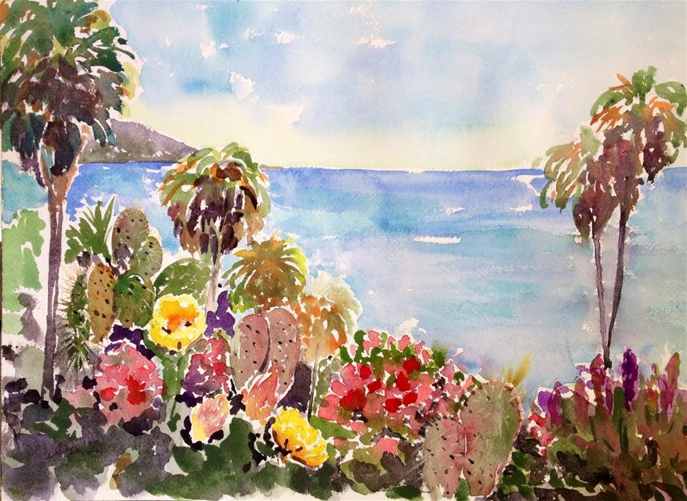 """Laguna Beach-3"" original fine art by Lisa Fu"