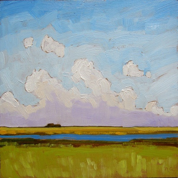 """""""Day For A Drive"""" original fine art by Nicki Ault"""