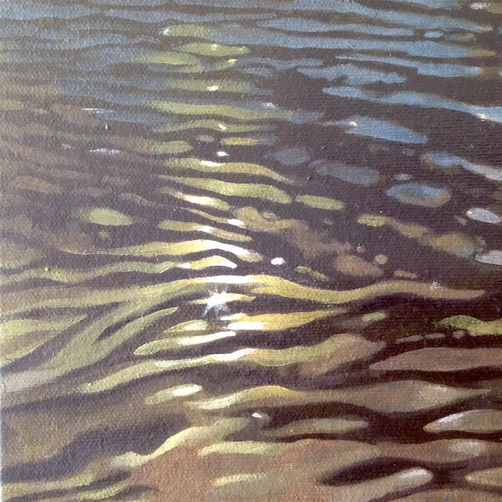 """Water Study 2"" original fine art by Stuart Graham"