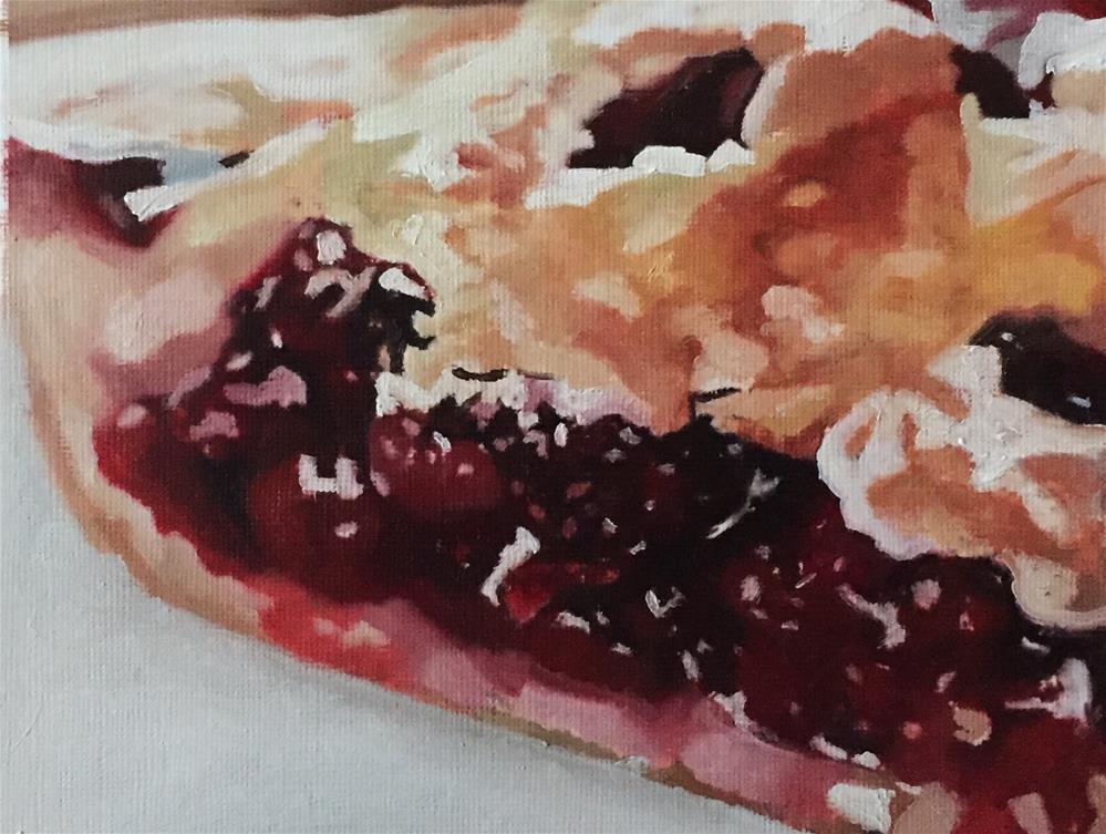 """Cherry Pie II"" original fine art by John Cameron"