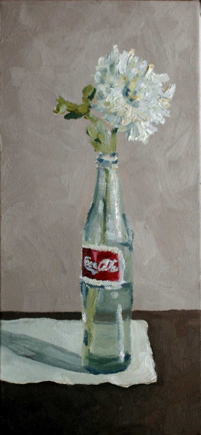 """Coke"" original fine art by Kristen Dukat"