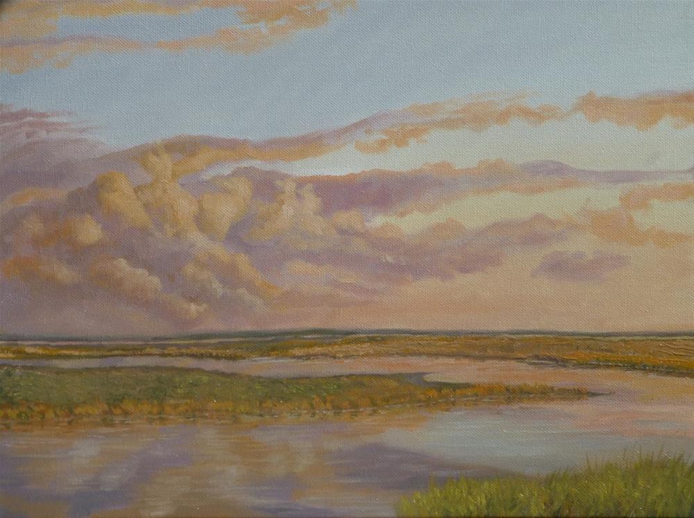 """Mid October Evening"" original fine art by Peter Lentini"