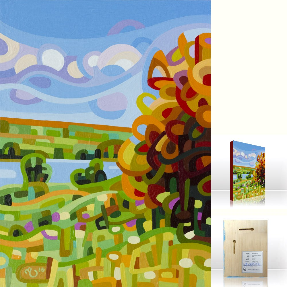 """Landscape Study #91"" original fine art by Mandy Budan"