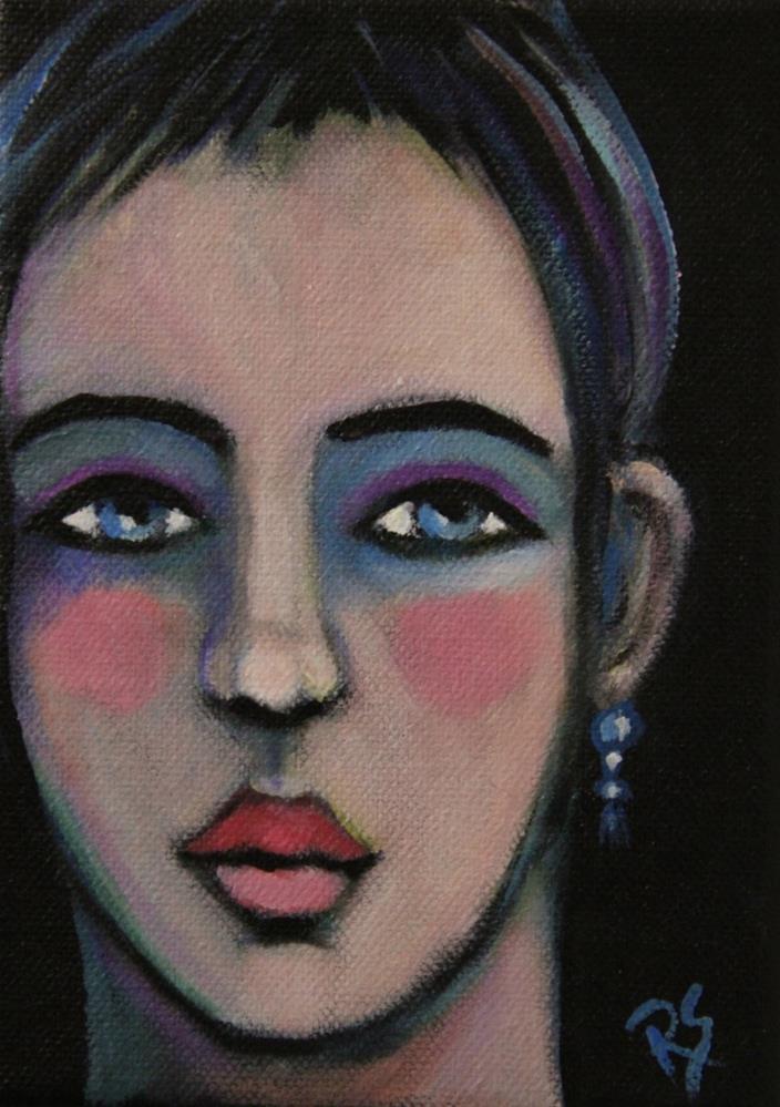 """Kiara"" original fine art by Roberta Schmidt"