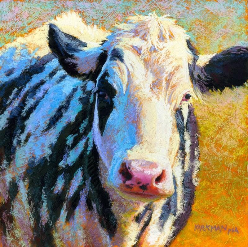 """Domino"" original fine art by Rita Kirkman"