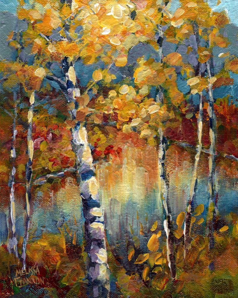 """Autumn's Voices"" original fine art by Melissa Gannon"