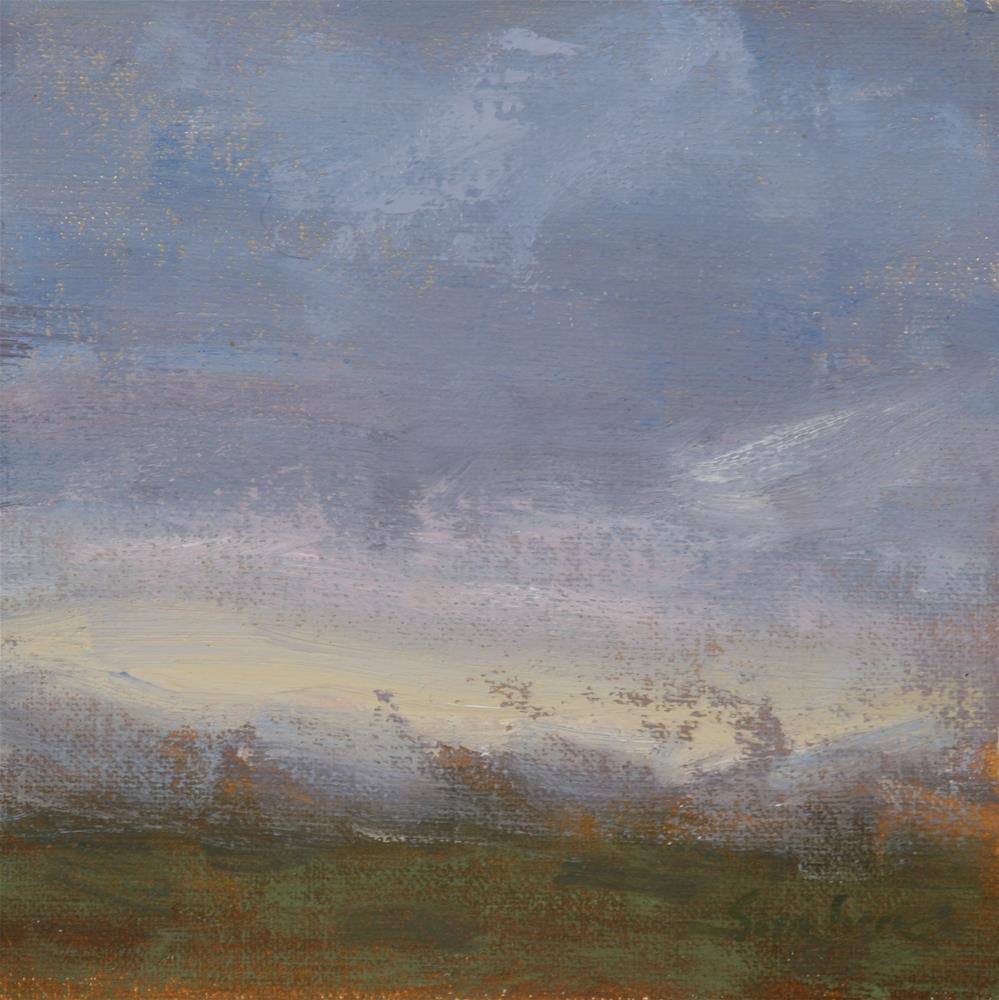 """""""Fall Sunrise 05"""" original fine art by Scott Serafica"""