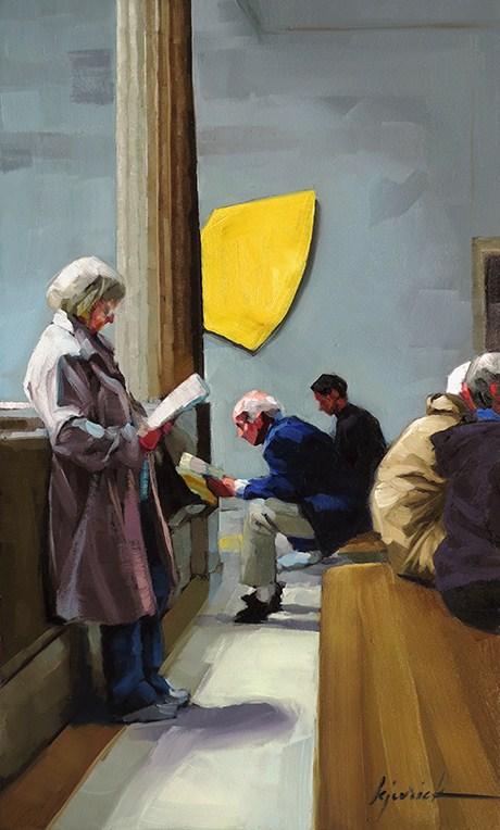 """""""Interest Group"""" original fine art by Karin Jurick"""