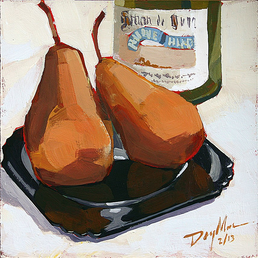 """Hospices de Dijon"" original fine art by Mike Daymon"